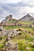 Genoese fortress. Sudak. Crimea  — Stock Photo