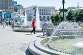 Kiev, main square of city — Stock Photo