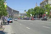 Kiev. Khreshchatyk Street  — Stock Photo