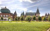 Palác cara alexej michajlovič romanov je tverská ulice — Stock fotografie