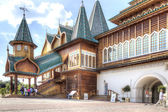 Palace of Tsar Alexei Mikhailovich Romanov is in Kolomenskoye — Stock Photo