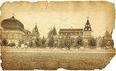 Palace of Tsar Alexei Mikhailovich Romanov is in Kolomenskoye. D — Stock Photo
