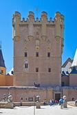 塞戈维亚。阿尔卡萨城堡 — 图库照片