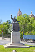 Segovia. Monument chef Candido Lopez  — Stock Photo