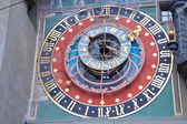 Bern. Fragment zodiacal hours Clock Tower — Stock Photo