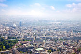 Panorama of city Paris — Stock Photo