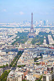 Panorama van de stad Parijs — Stockfoto