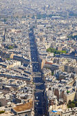 Panorama of city Paris — Stock Photo