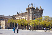 Barcelona. Customs House, it is built at the beginning of 20 cen — Stock Photo