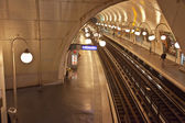 Paris. Cite metro station — Stock Photo