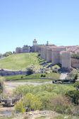 Medieval city Avila — Stock Photo