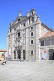 City Avila, monastery of Saint Teresa — Stock Photo