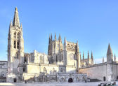 Burgos. Cathedral of Our Lady — Stock Photo