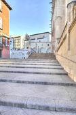 Burgos. cityscape — Stok fotoğraf