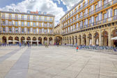 San Sebastian. European Capital of Culture. Constitution Square  — Stock Photo