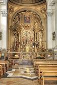 Saragossa. Interior of cathedral of Mother of God Pillar — Stock Photo