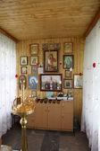 Toplovsky Holy Paraskeevsky convent. In a chapel — Stockfoto