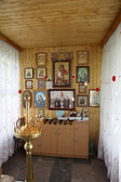 Toplovsky 聖 paraskeevsky 修道院。礼拝堂で — ストック写真
