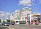Tver. Hotel Volga — Stock Photo