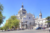 Catholic Cathedral of the Virgin of Almudena — Stock Photo