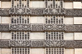 Paris. Louvre. Wall — Stock Photo