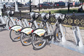 Moscow. Bicycle Rental  — 图库照片