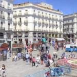 Madrid. Square Puerta del Sol — Stock Photo #51268117