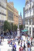 Madrid. Square Puerta del Sol  — Stock Photo