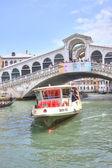 Bridge of Rialto. Venice.  — Stok fotoğraf