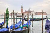 Venedig morgen. insel san giorgio maggiore — Stockfoto