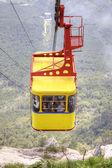 Ropeway on a mountain Ai-Petri  — Stock Photo