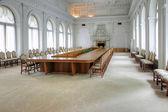 Interior of the Livadia palace. White hall — Stock Photo