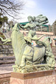 National Sculpture Park Millesgarden in Stockholm — Stock Photo