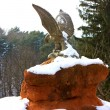Eagle statue - Stock Photo