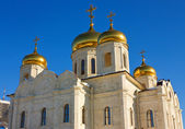 Spasski Cathedral in Pyatigorsk. — 图库照片