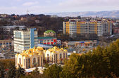 View on city Kislovodsk,Northern Caucasus,Russia. — Stock Photo