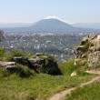 Stock Photo: View on city Pyatigorsk
