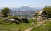 View on city Pyatigorsk — Stock Photo