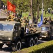 Stock Photo: Victory Parade 2013 in Pyatigorsk.