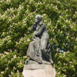 Monument Lermontov in Pyatigorsk. — Stock Photo