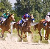 Hästkapplöpning — Stockfoto