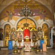 Stock Photo: RussiOrthodox Church interior