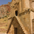 Noravank  monastery first floor entrance — Stock Photo