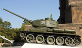 Old soviet tank. — Stock Photo