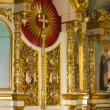 The interior of Orthodox Church. — Stock Photo