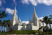 Mormon tempel — Stockfoto