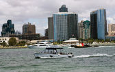 Water Taxi on San Diego,California. — Stock Photo