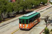 Tour bus in San Diego. — Stock Photo