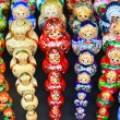 Royalty-Free Stock Photo: Sets of traditional russian nesting painted doll matryoshka