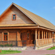 Stock Photo: Traditional russirural wooden house